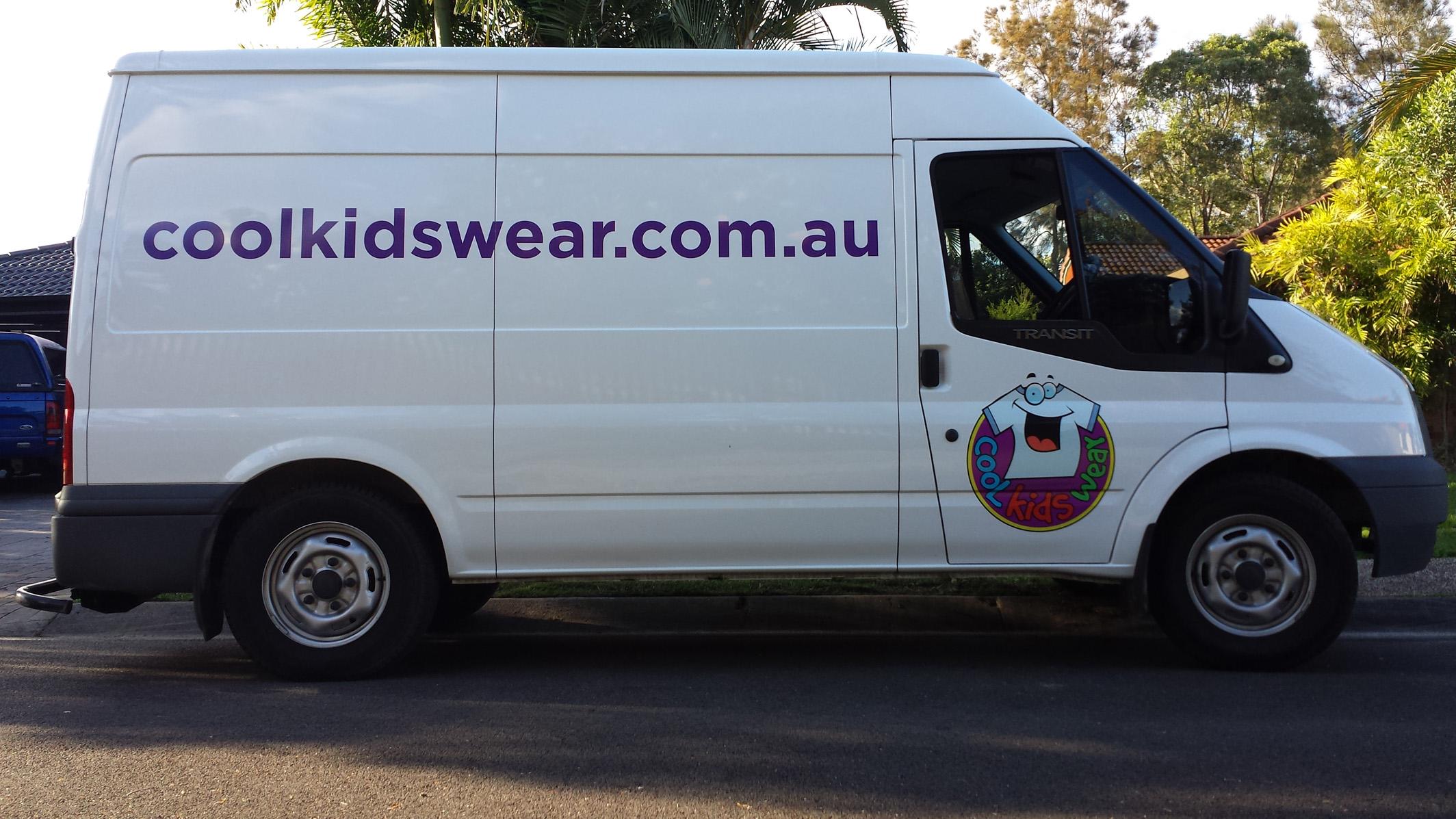 Van signage Sunshine Coast