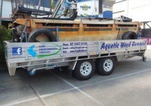 signage for trailer Sunshine Coast