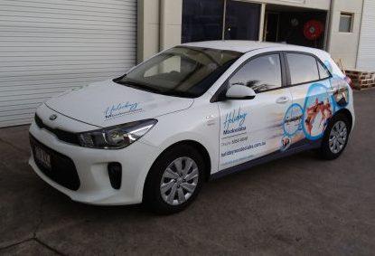 Vehicle signage Sunshine Coast