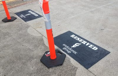 Line marking signage Sunshine Coast