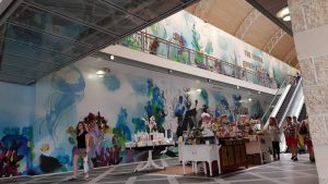 Digitally Printed Mural Shopping Centre