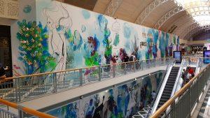 Digitally Printed Mural Sunshine Coast